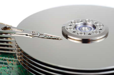 fixed disk: Hard disk drive Stock Photo