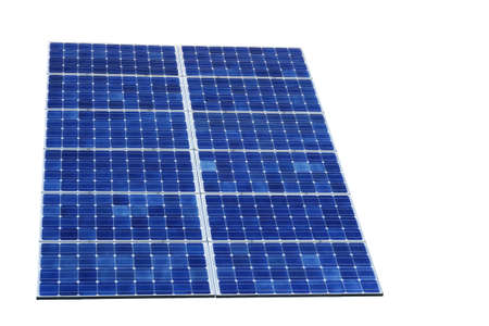 shifted: Solar cell Stock Photo