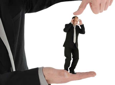 Business under pressure photo