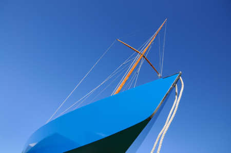 flatten: Sailboat Stock Photo