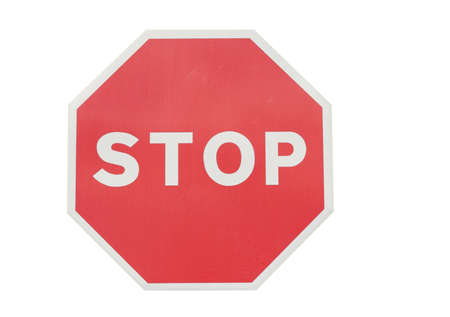 forbade: Stop sign Stock Photo