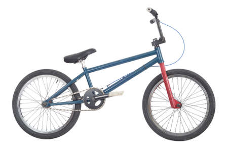 bmx bike: Bmx bicycle Stock Photo