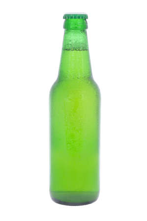 cooled: Cold bottle