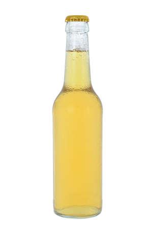 Cold beverage bottle