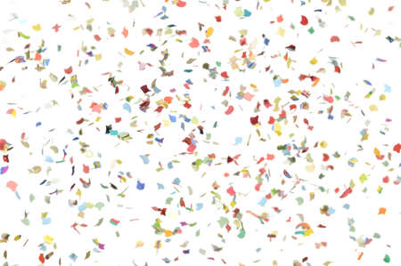 Confetti shower