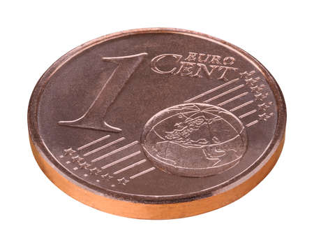 cent: One euro cent coin