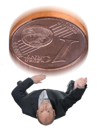 tossing: Tossing a coin