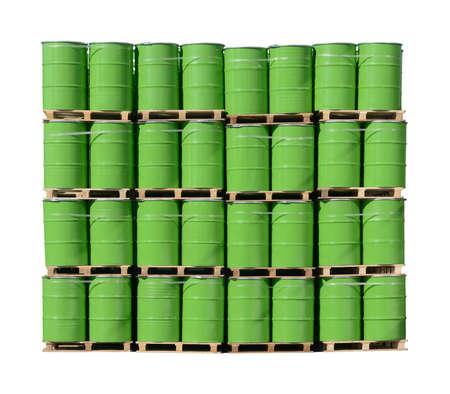 Bunch stack of barrels
