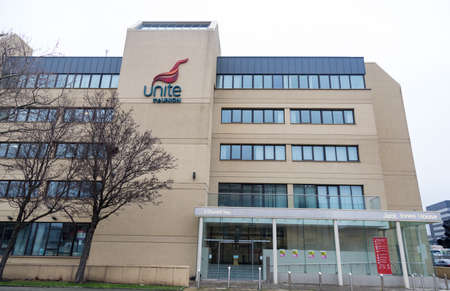 ack Jones House the Liverpool offices of Unite the Union Liverpool January 2019