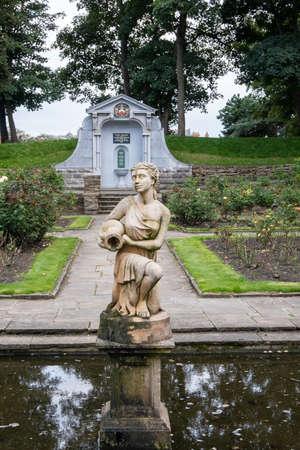 Ashton Park in St Annes on Sea Fylde Lancashire, England, Britain