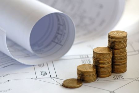 monetary: monetary accumulation for construction of  house and drawings