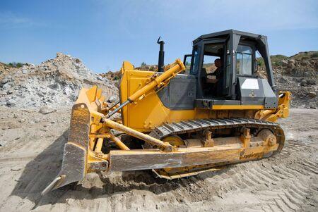 heavy duty bulldozer  photo