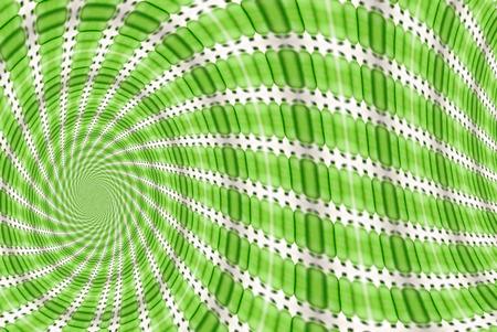 green background. photo