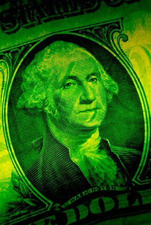 one dollars, money, close up Stock Photo