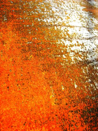 oxidize: Old rusty metal texture