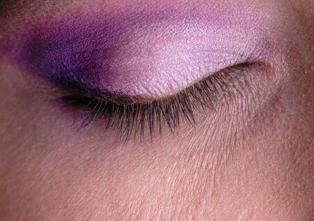 female eye, eyebrow, eye, eyelashes and cosmetics Stock Photo - 4127414