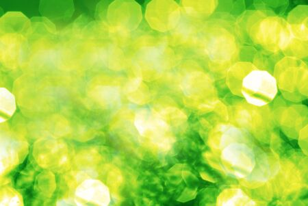 Bright contrast abstract dynamical composition it is yellow green colors photo