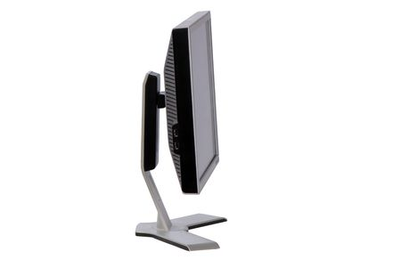 modern digital monitor for  computer isolated on  white background Stock Photo - 4980629