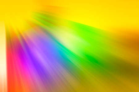 dim rays of different colors, blue, red, orange, green, purple photo