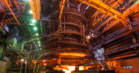 Metallurgical equipment and technology of iron production  Blast furnace  Stock Photo - 26475393
