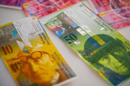 monetary: paper notes MONETARY UNIT, Switzerland