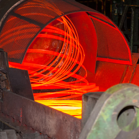 metallurgical: metallurgical production, manufacture of metal wire mill