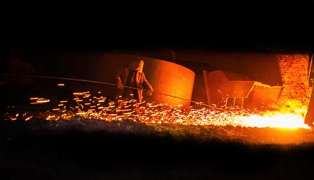 鉄の製錬、製鉄所のリリース前にプロ冶金コントロール