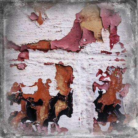 crumbling: paint crumbling wall plaster brick wall