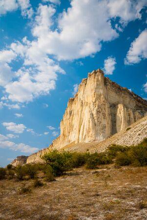 White Rock in the Crimea, is located near the village of White Rock, Belogorsky area. Ukraine.