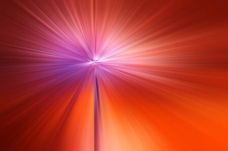 divergent: blurred colored background divergent rays Stock Photo