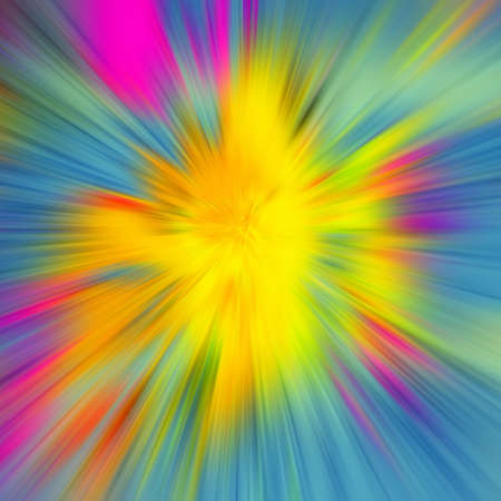 converge: blurred colored background divergent rays Stock Photo