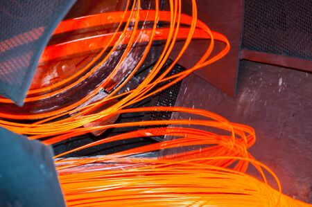 steel works: manufacturing wire Steel Works