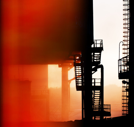 fragments of old industrial equipment  background photo