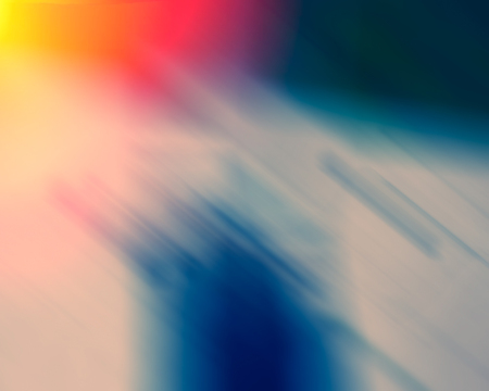 Abstract composition and color spot Stock Photo