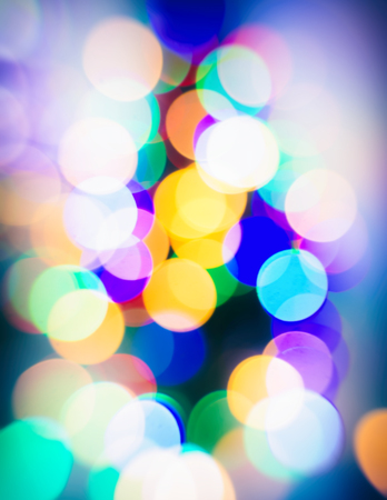Blurred Background,Festive Lighting. Festive. Christmas. New Year. Modern Style. Observation Of The New Year Tree. Element Of Design.