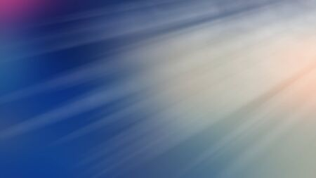 Abstract composition, blurred background. Radial rays and light spots on a blue background. Web banner.