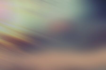 Abstract composition, blurred background. Diagonal rays and light spots on a colorful background. Web banner. Banco de Imagens