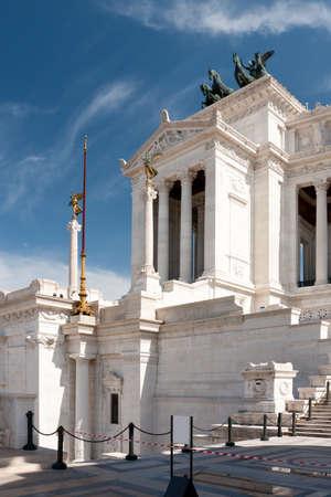 Monument of the Vittorio Emanuele II in Rome photo