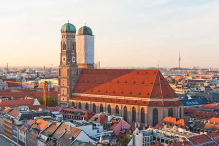 View at the famous Frauenkirche church in Munich, Germany Stock Photo - 9874389
