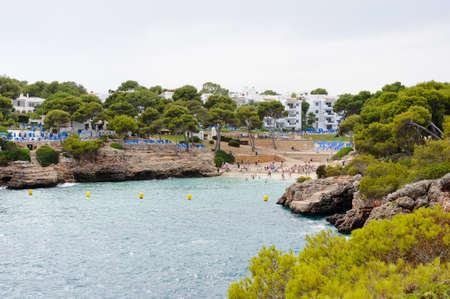 Cala Esmeralda beach on Mallorca island, Spain Stock Photo - 10380784
