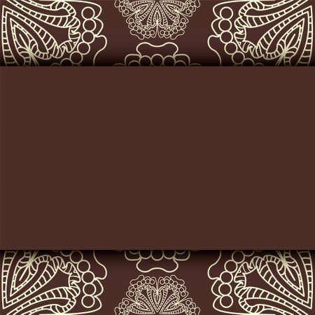 Floral invitation cards. easily editable vector image