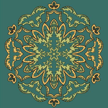 easily: Seamless Islamic pattern. Easily editable vector image
