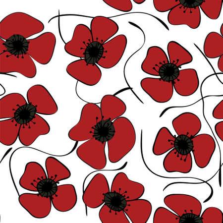 vigil: Red poppies