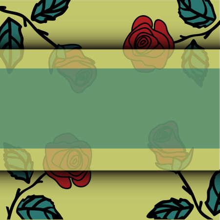 dozen: Illustration  of roses Illustration