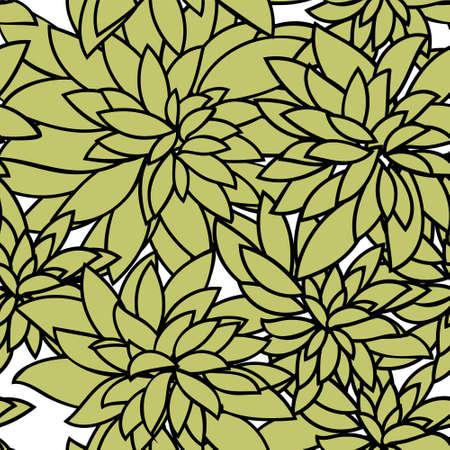単純な要素の抽象的なシームレス パターン
