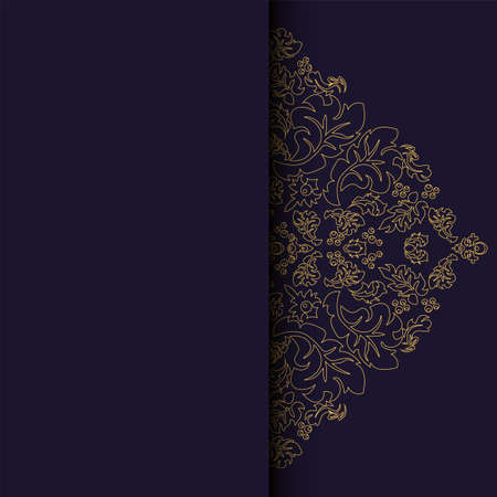 greeting card, invitation card and background easily editable vector image