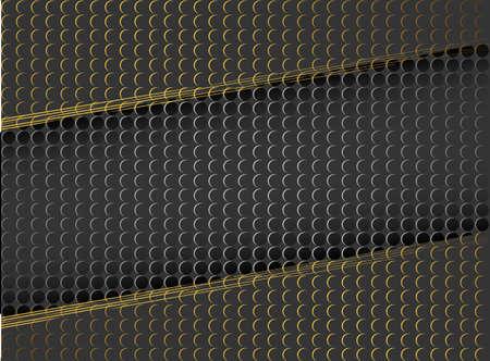 Vector abstract gold sparkle glitter background. Luxury pattern. Black background. Modern pattern