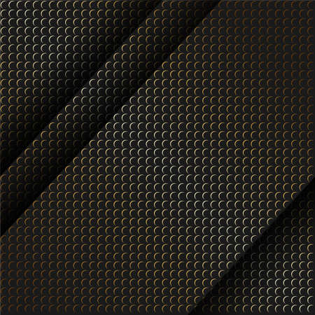 Vector abstract gold sparkle glitter background. Luxury pattern. Black background. Modern pattern.