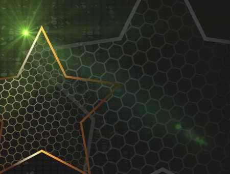 The gold stars for web background design. Modern wallpaper. Dark backdrop. Modern design template with the gold stars on transparent background. Abstract art.