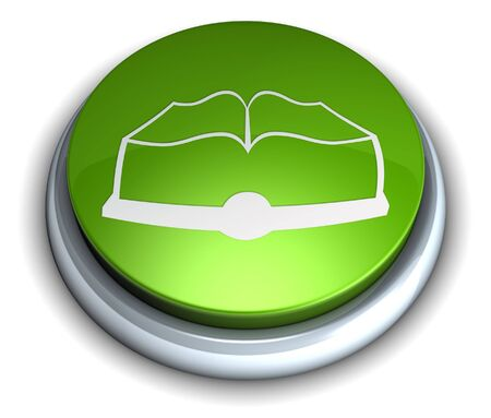 High detailed green book button